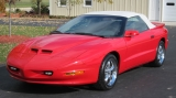 Click for more information on 1996 Firebird Formula Convertible