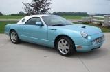 Click for more information on 2002 Thunderbird Roadster 7000 miles